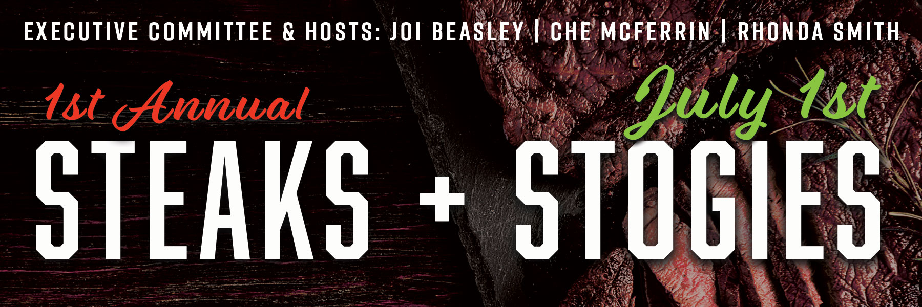 Steak and Stogies banner